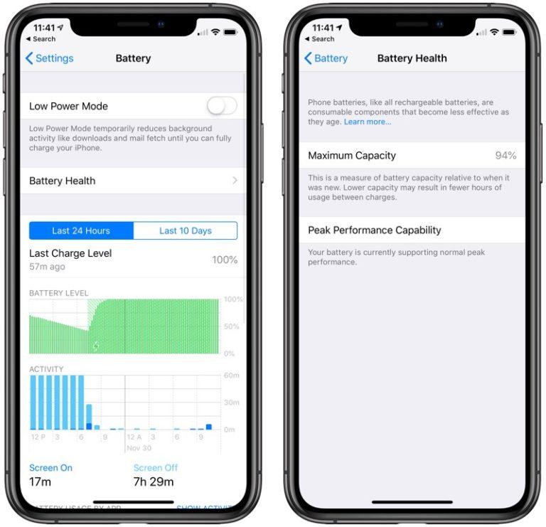 iPhone X provera zdravlja baterije da li se brzo troši. Zamena iPhone X baterije ovlašćeni servis