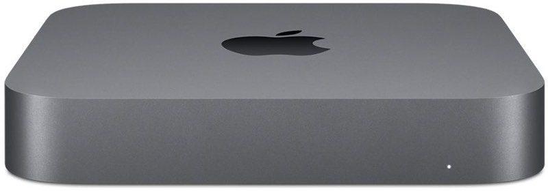 Nova generacija Mac mini Apple desktop računara. Crni anodizirani aluminijum
