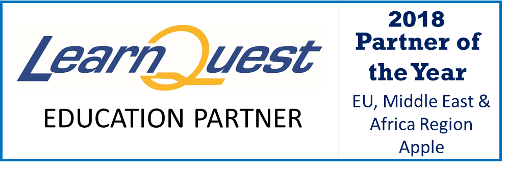 LearnQuest Education partner godine logo