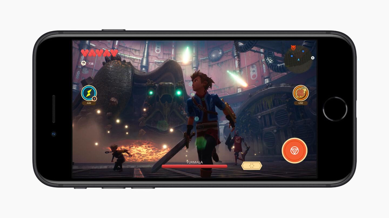 Gaming na iPhone SE 2020