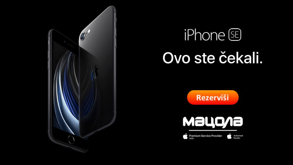 iPhone SE 2020 ovo ste cekali hero reservacija macola