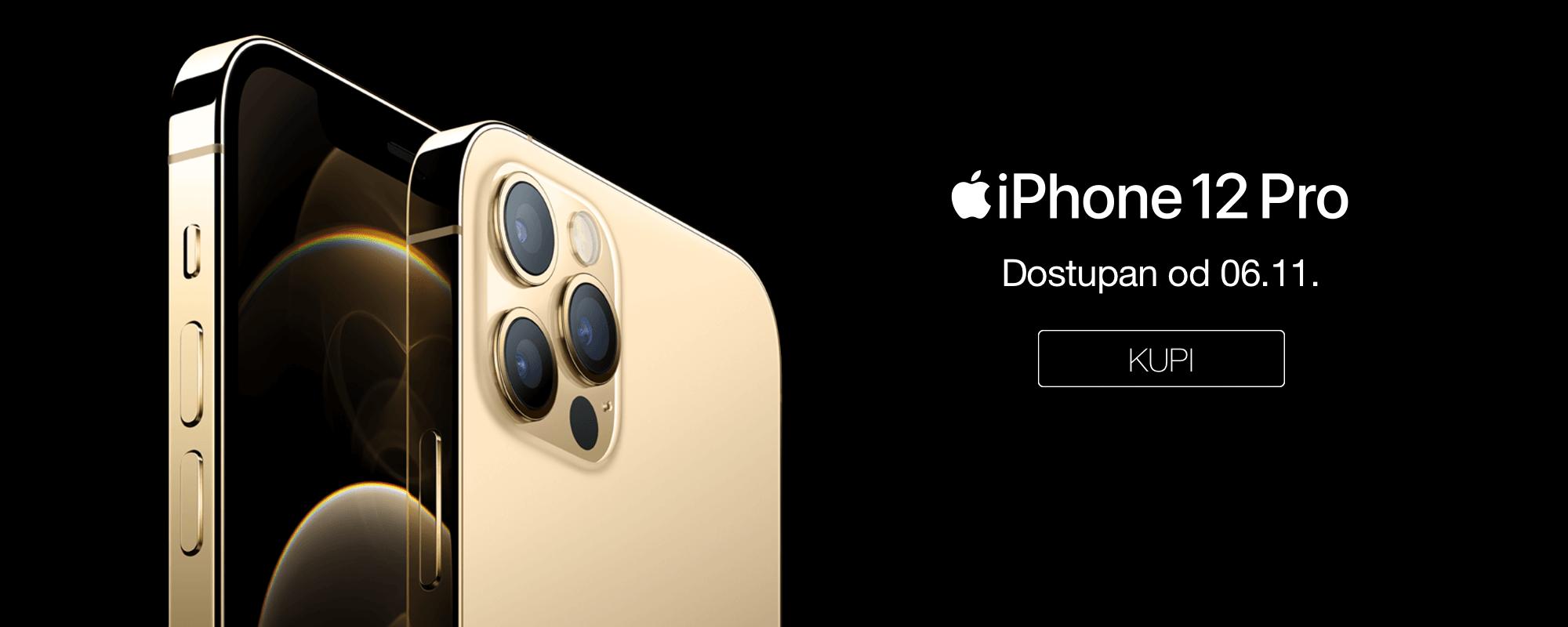 iPhone 12 Pro Dostupan u Srbiji od 06.11